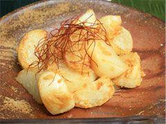 カブの味噌炒め