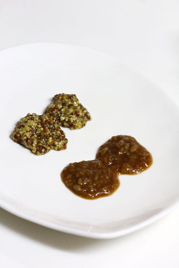 醤油糀マスタードの豚ロース焼